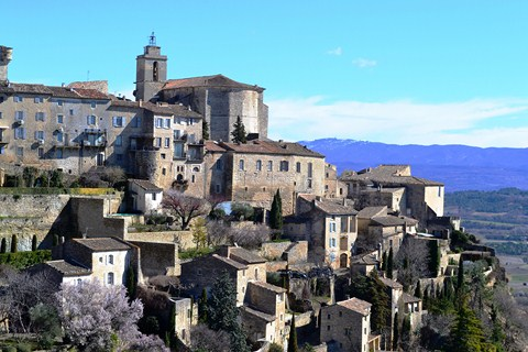 Gordes historic village Luberon France